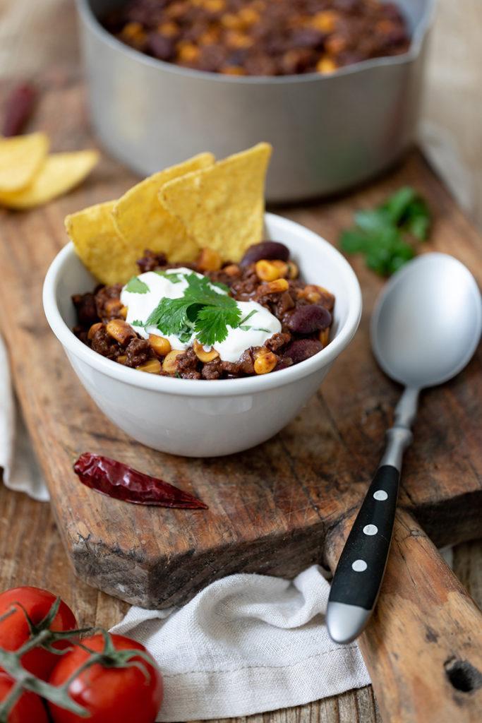 Chili con carne mit Faschiertem nach einem Rezept von Sweets & Lifestyle®