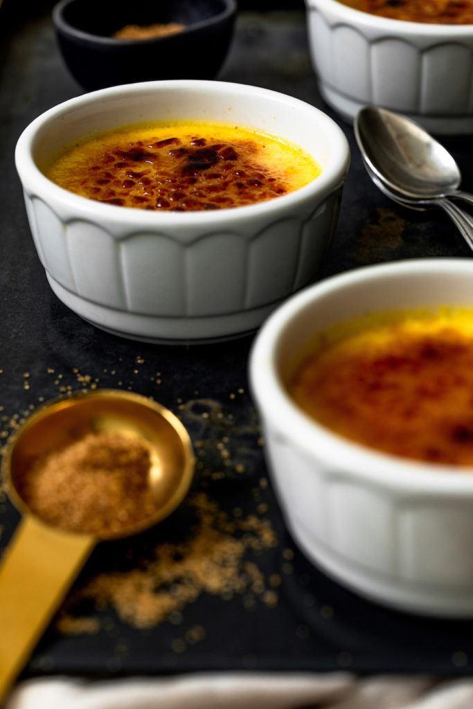 Creme Brulee im Dampfgarer zubereitet nach einem Rezept von Sweets & Lifestyle®