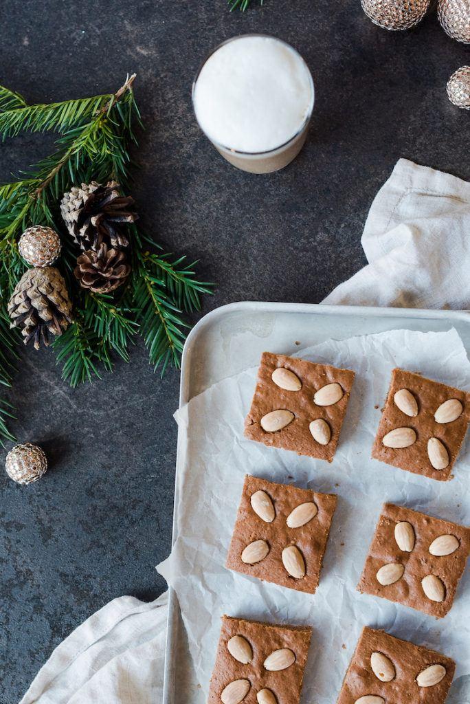 Lebkuchen mit Nüssen und Kaffee vom Blech nach einem Rezept von Sweets & Lifestyle®