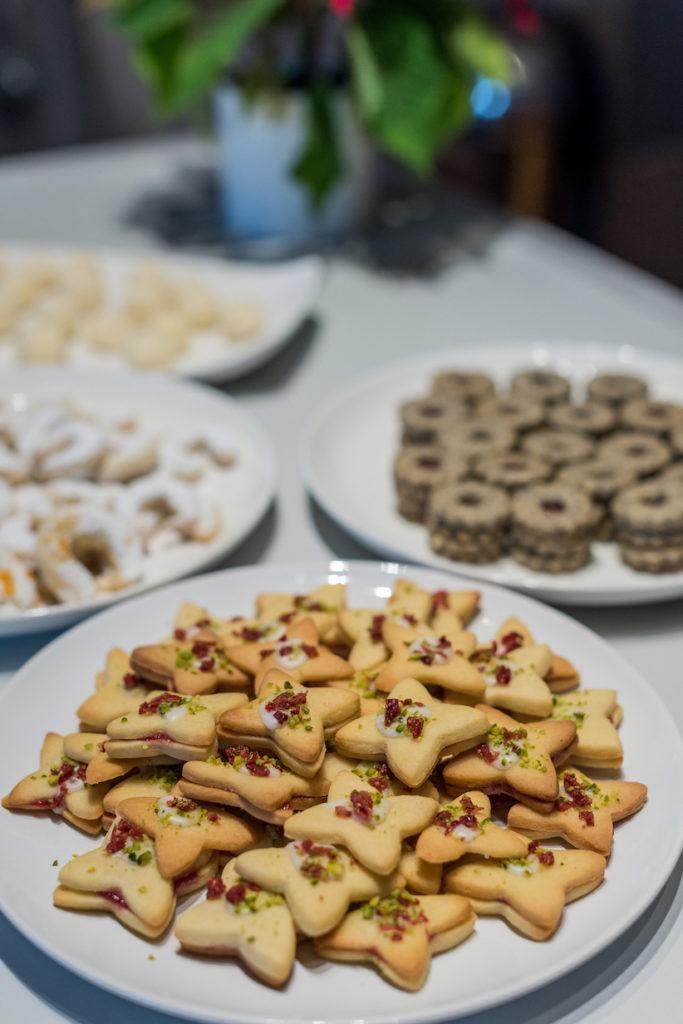 Weihnachtskekse gebacken beim Coca-Cola-Backworkshop mit Verena Pelikan von Sweets & Lifestyle®