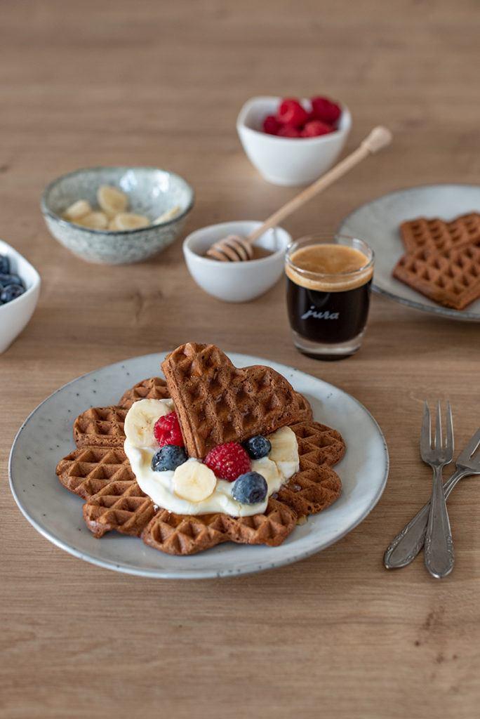 Leckeres Kaffee Waffeln Rezept von Sweets & Lifestyle®