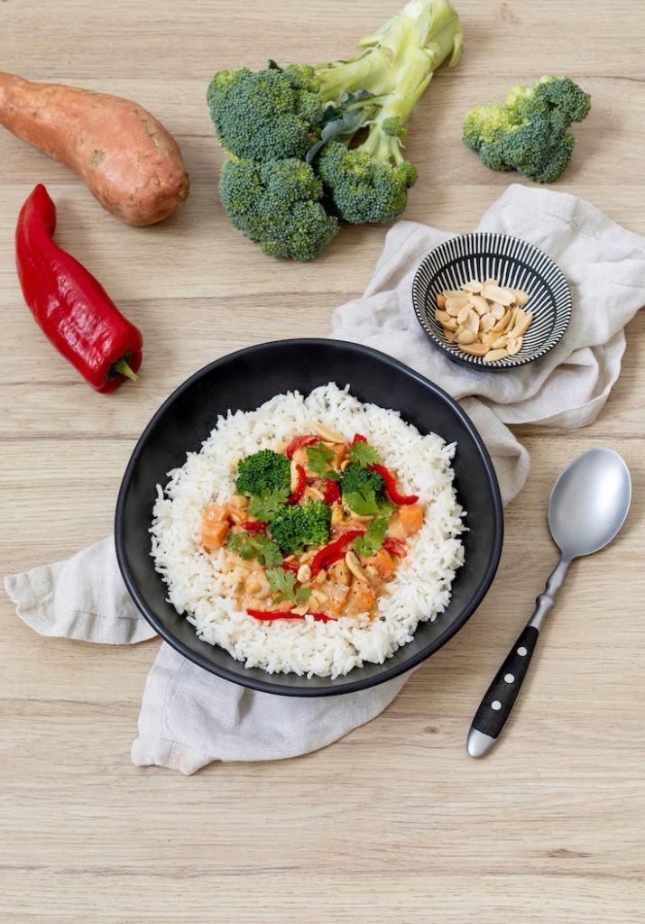 Leckeres Süßkartoffel Curry mit Huhn nach einem Rezept von Sweets & Lifestyle®