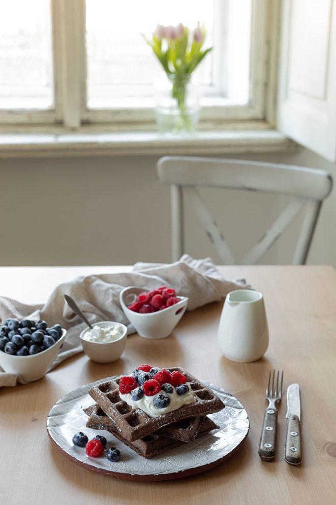 Saftige Schokowaffeln mit Kakao nach einem einfachen Rezept von Sweets and Lifestyle®