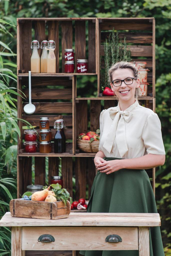 Autorin Verena Pelikan vom Einkochbuch Einkochen Rezepte für selbstgemachte Köstlichkeiten im Glas