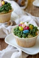 Rezept für leckere Ostermuffins mit Marzipanosternest von Sweets & Lifestyle®