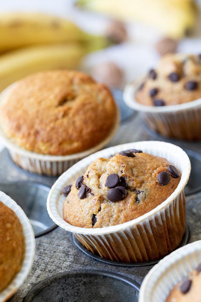 Leckere Bananen Schoko Muffins nach einem Rezept von Sweets & Lifestyle®