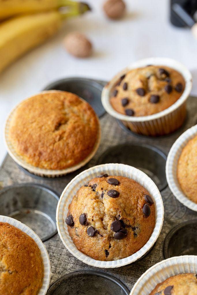 Leckeres Bananen Schoko Muffins Rezept von Sweets & Lifestyle®