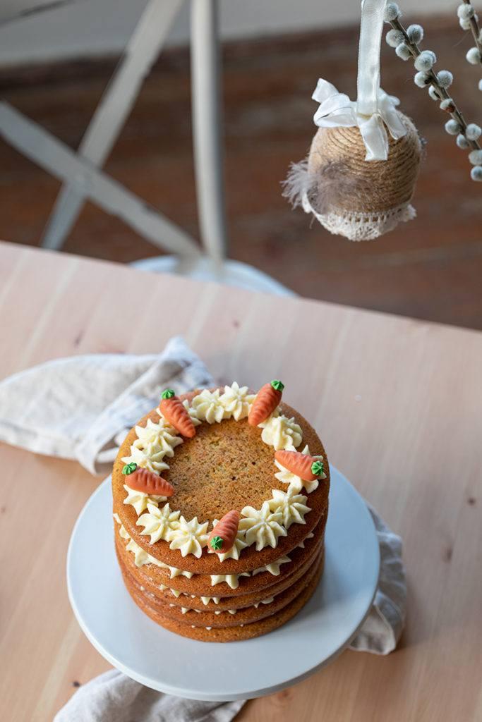 Saftiger Karottenschichtkuchen nach einem Rezept von Sweets & Lifestyle®
