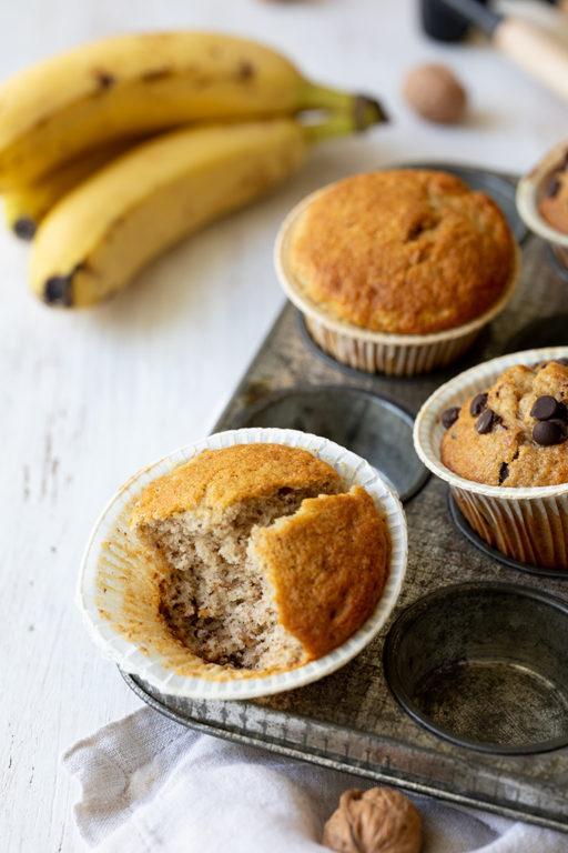 Saftige Bananen Muffins mit Walnüssen nach einem Rezept von Sweets & Lifestyle®