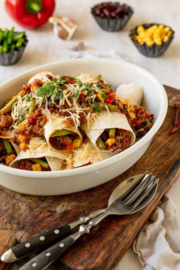 Schnelle Enchiladas mit Hackfleisch nach einem Rezept von Sweets & Lifestyle®