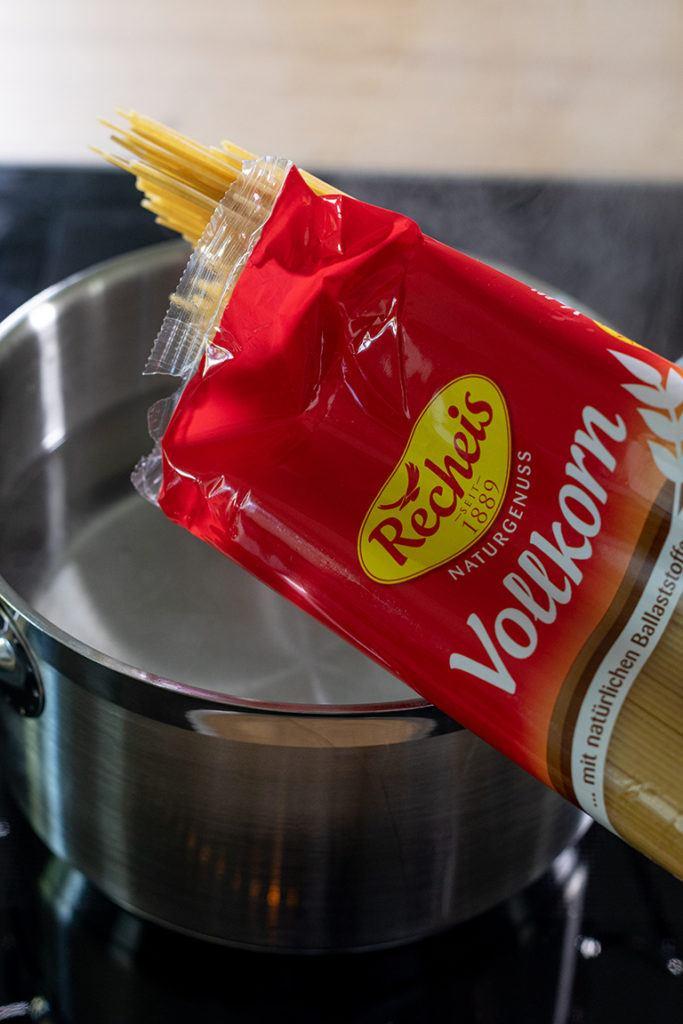Recheis Vollkorn Spaghetti für die Pasta mit Ofengemüse von Sweets & Lifestyle®