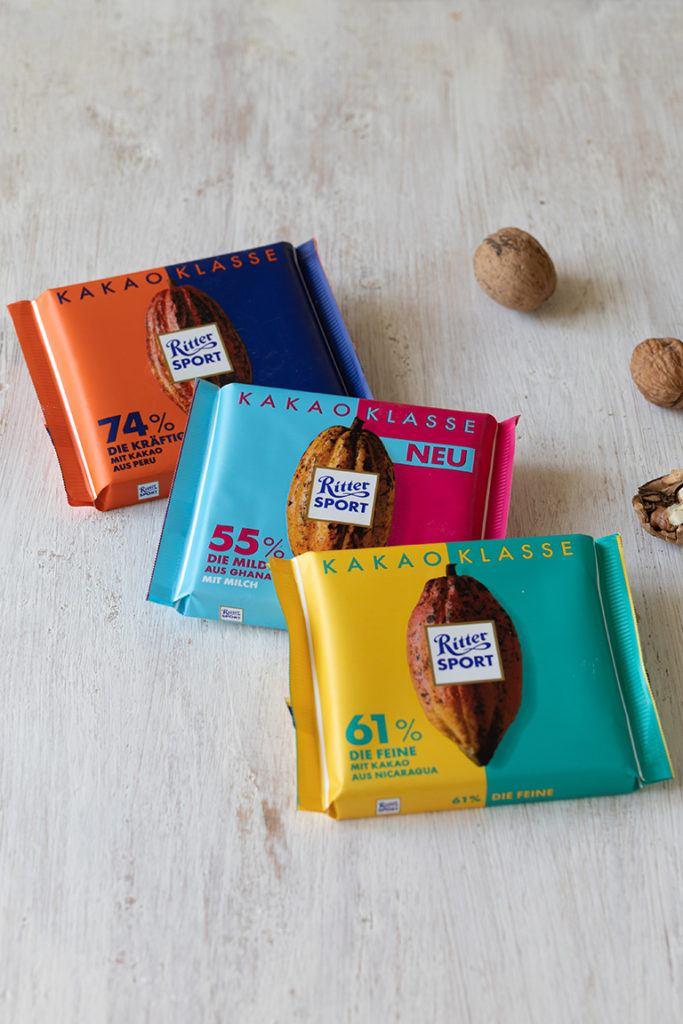 Rittersport Kakaoklasse fuer den Schoko Nuss Kuchen nach einem Rezept von Sweets & Lifestyle®