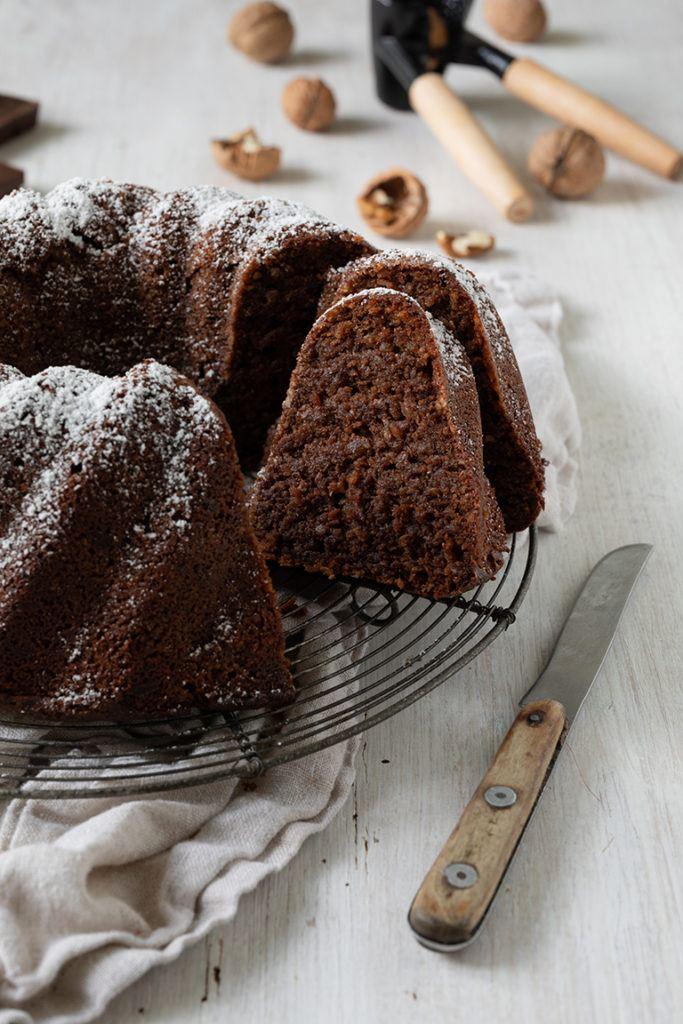 Saftiger Nusskuchen ohne Mehl nach einem Rezept von Sweets & Lifestyle®