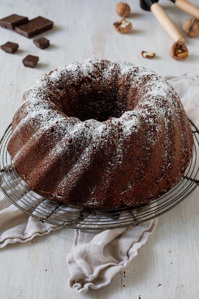 Leckerer Schoko Nuss Kuchen nach einem Rezept von Sweets & Lifestyle®