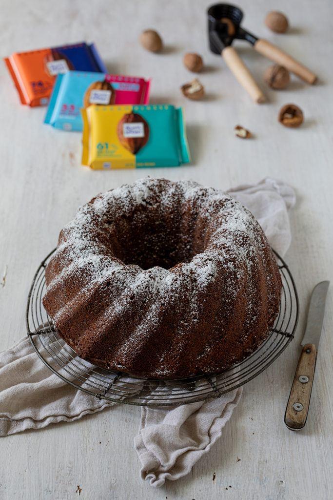Schoko Nuss Kuchen mit Rittersport Kakaoklasse nach einem Rezept von Sweets & Lifestyle®