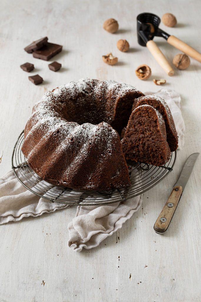 Saftiger Schoko Nuss Kuchen ohne Mehl nach einem Rezept von Sweets & Lifestyle®