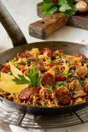 Rezept für eine Nudel Paella mit Chorizo von Sweets & Lifestyle®