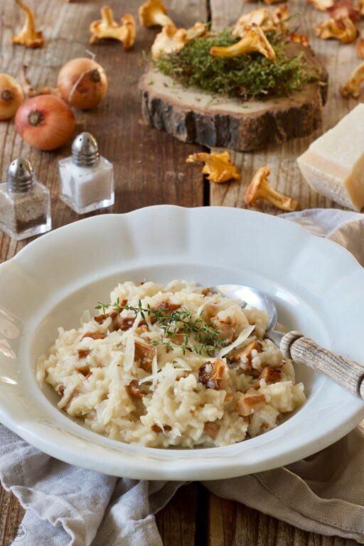 Cremiges Eierschwammerl Risotto Rezept nach einem Rezept von Sweets & Lifestyle®
