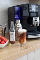 Geeister Erdbeer Espresso mit Sweets & Lifestyle® Erdbeernektar nach einem Rezept von Sweets & Lifestyle®