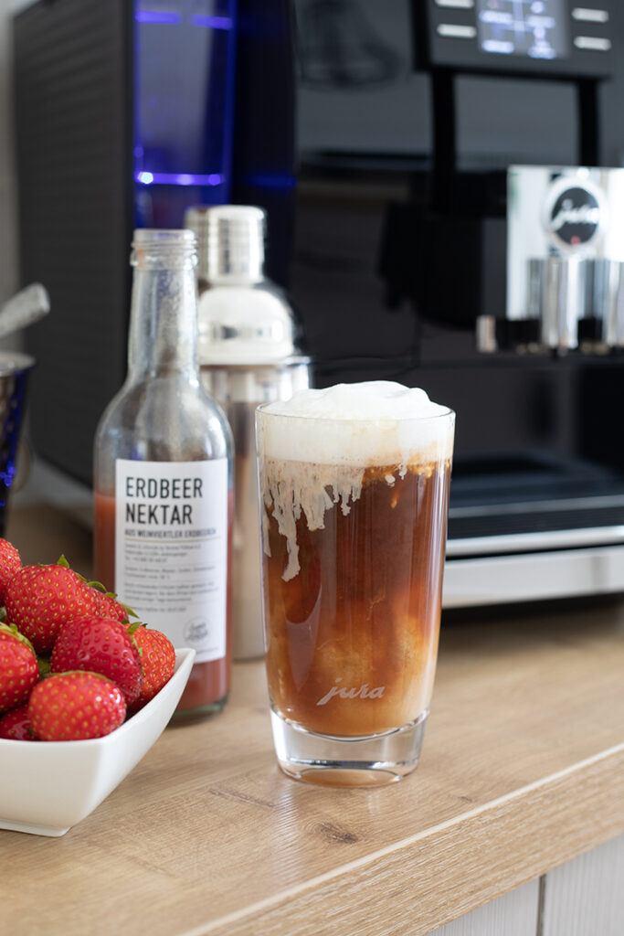Geeister Erdbeerespresso nach einem Rezept von Sweets & Lifestyle®