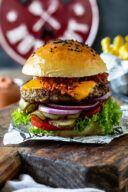 Leckerer Cheeseburger nach einem Rezept von Sweets & Lifestyle®