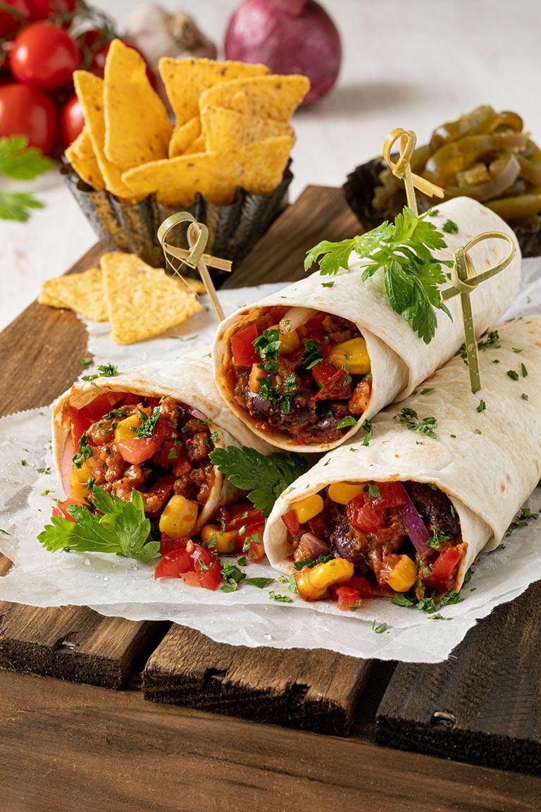 Leckere mexikanische Wraps nach einem Rezept von Sweets & Lifestyle®