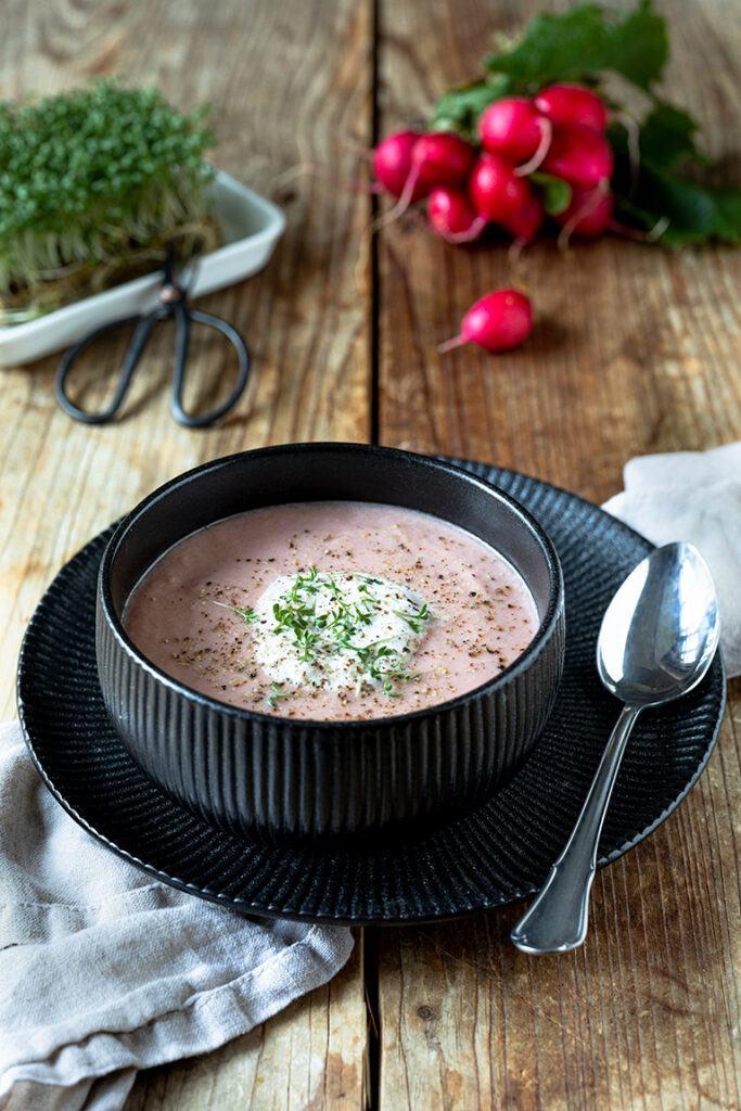 Einfache Radieschensuppe nach einem Rezept von Sweets & Lifestyle®