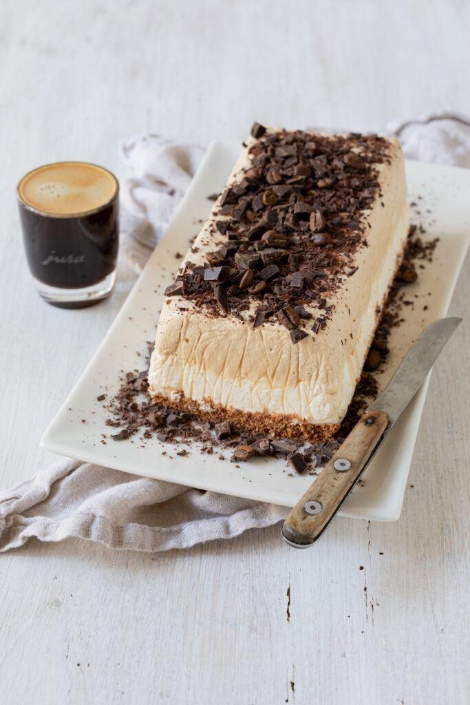 Kaffee Eistorte in Kastenform nach einem Rezept von Sweets & Lifestyle®