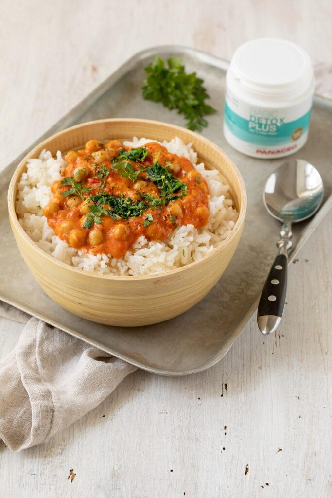 Kichererbsen Kokos Curry als Detox Rezept von Sweets & Lifestyle®