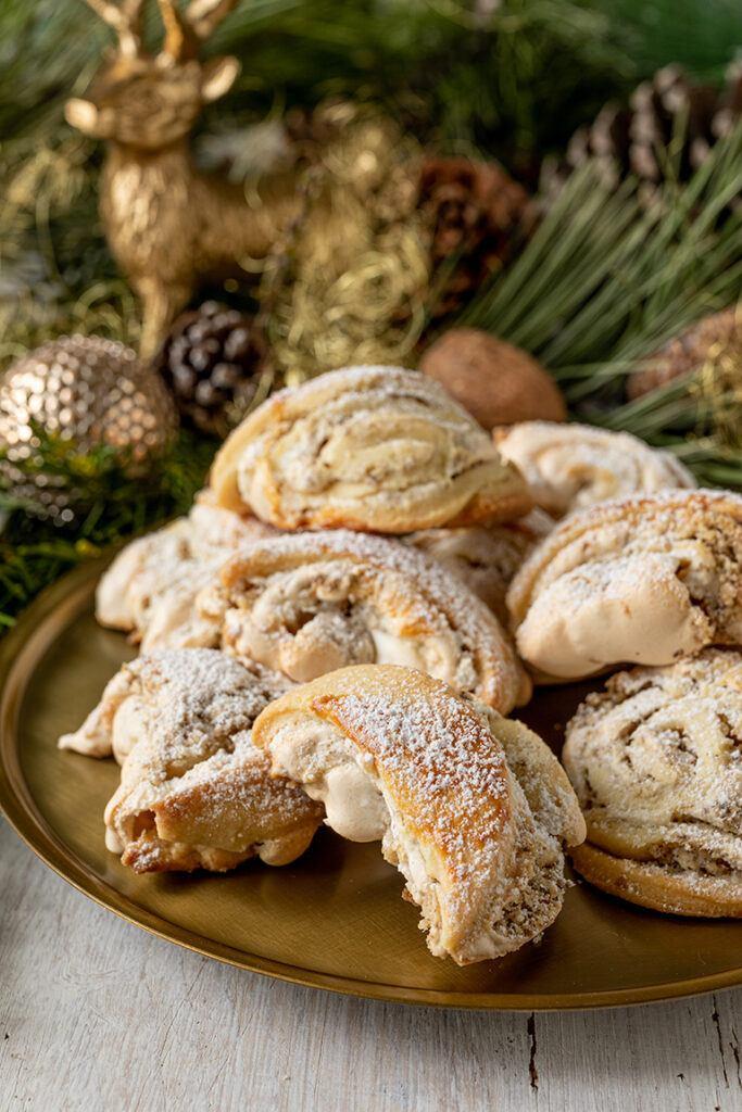 Burgenkipferl Kipferl als Weihnachtskekse und Hochzeitsbaeckerei nach einem Rezept von Sweets & Lifestyle®