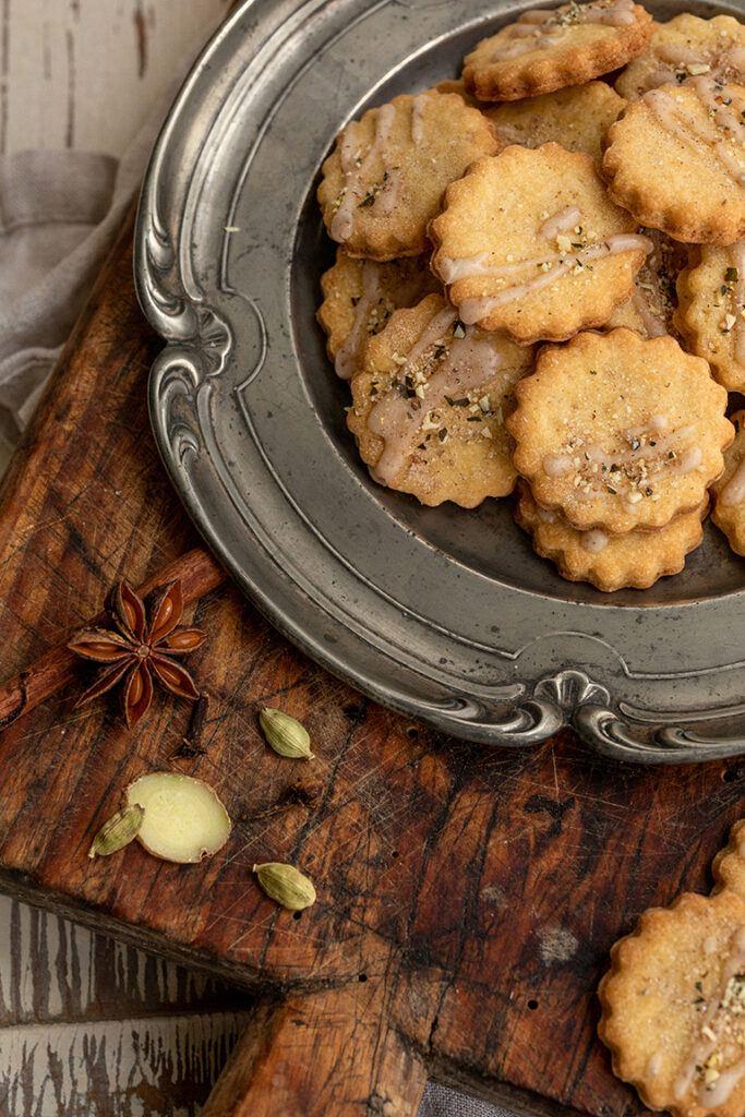 Leckere Chai Latte Kekse nach einem Rezept von Sweets & Lifestyle®