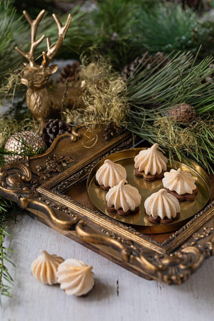Feenkuesse mit Nougatstuecken nach einem Rezept von Sweets & Lifestyle®