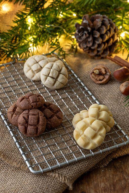 Gitter Cookies als einfache Weihnachtskekse nach einem Rezept von Sweets & Lifestyle®