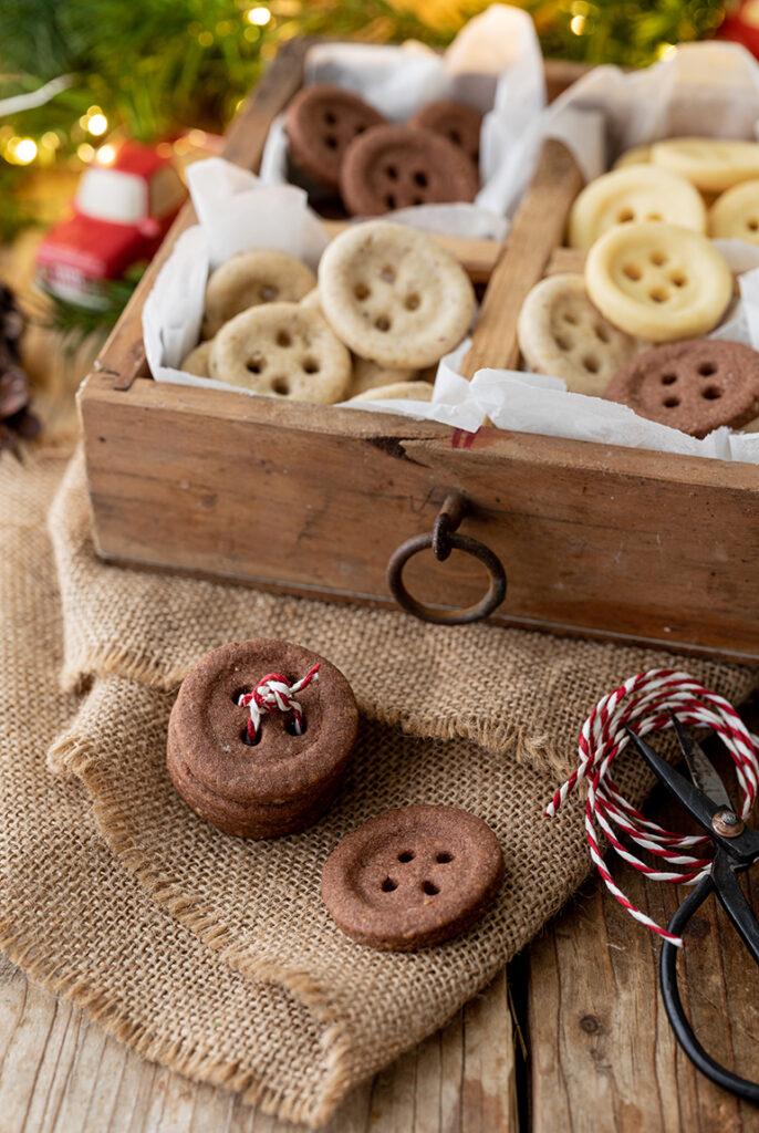 Knopfkekse ohne Ausstecher gemacht nach einem Rezept von Sweets & Lifestyle®