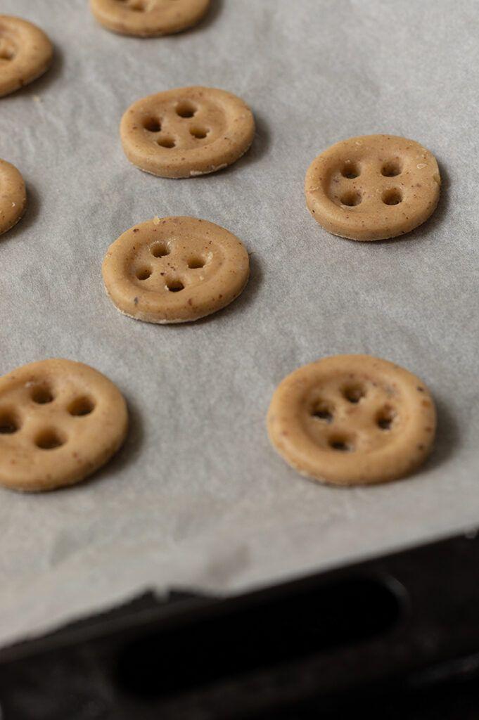 Knopfkekse ohne Ausstecher selber machen nach einem Rezept von Sweets & Lifestyle®