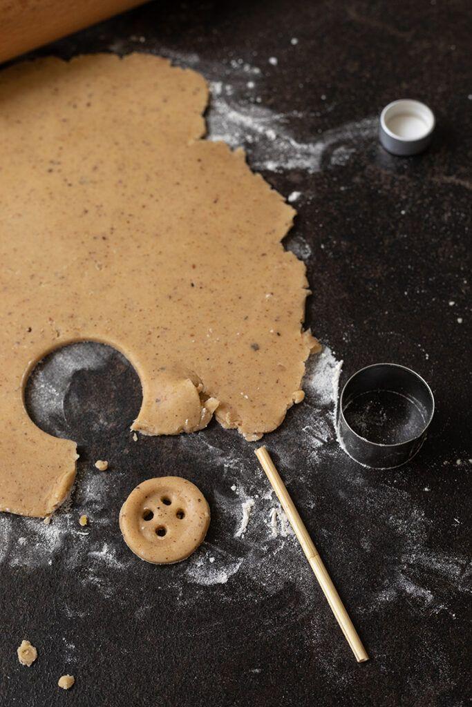 Knopfkekse selber machen ohne Keksausstecher nach einem Rezept von Sweets & Lifestyle®