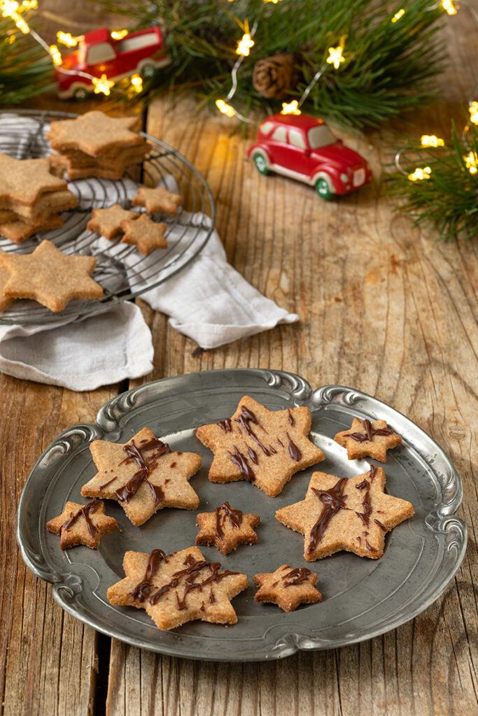 Leckere Vollkorn Kekse als Weihnachtskekse nach einem Rezept von Sweets & Lifestyle®