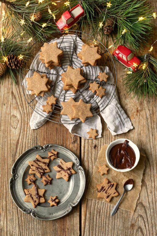 Leckere Vollkornkekse als Weihnachtskekse nach einem Rezept von Sweets & Lifestyle®