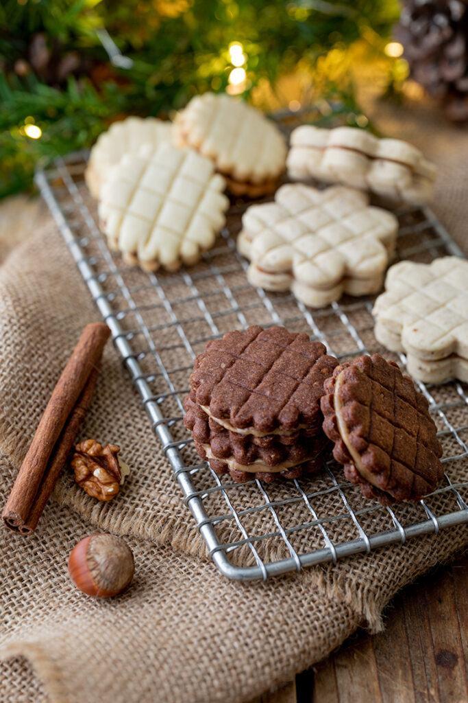 Gitterkekse aus drei verschiedenen Teigen nach Rezepten von Sweets & Lifestyle®