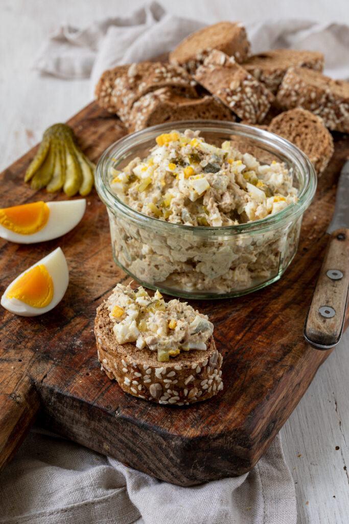 Leckeres Thunfischaufstrich Rezept mit Ei von Sweets & Lifestyle®