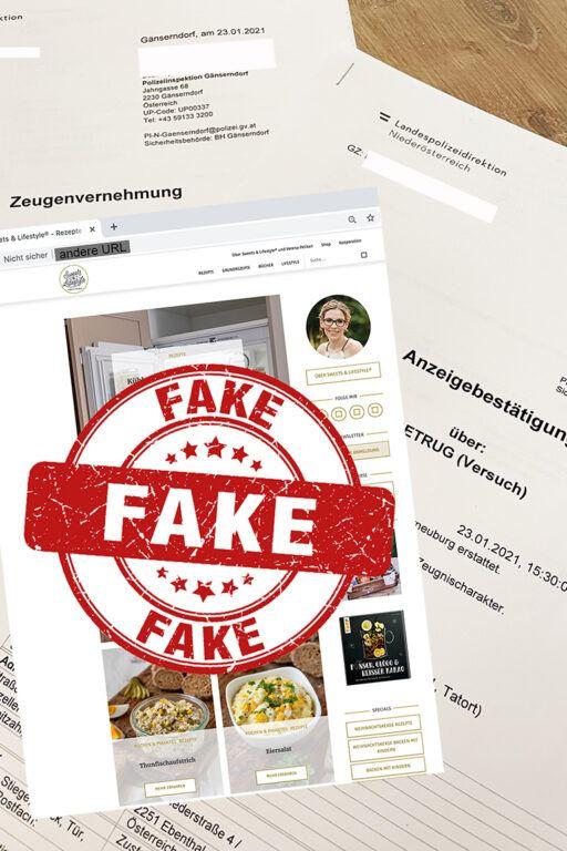 Verena Pelikan Betreiberin von sweetsandlifestyle.com von Webseitenklau betroffen