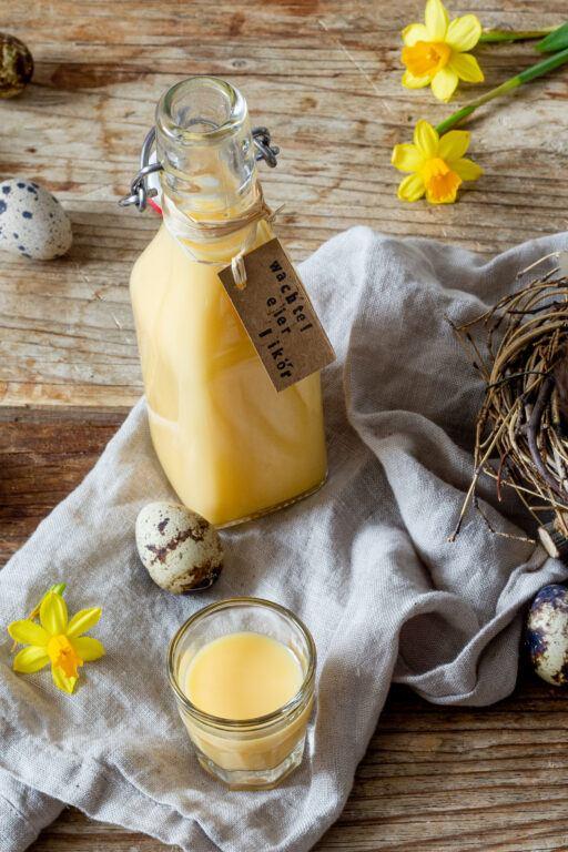 Hausgemachter Wachteleierlikoer nach einem Rezept von Sweets & Lifestyle®