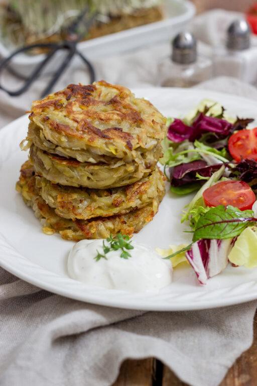 Leckere Kartoffelpuffer nach Omas Rezept gemacht von Sweets & Lifestyle®