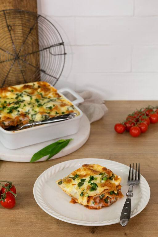 Leckere Baerlauch Lasagne nach einem Rezept von Sweets & Lifestyle®