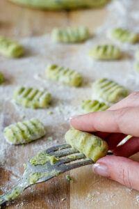 selbst gemachte Baerlauch Gnocchi nach einem Rezept von Sweets & Lifestyle® gemacht