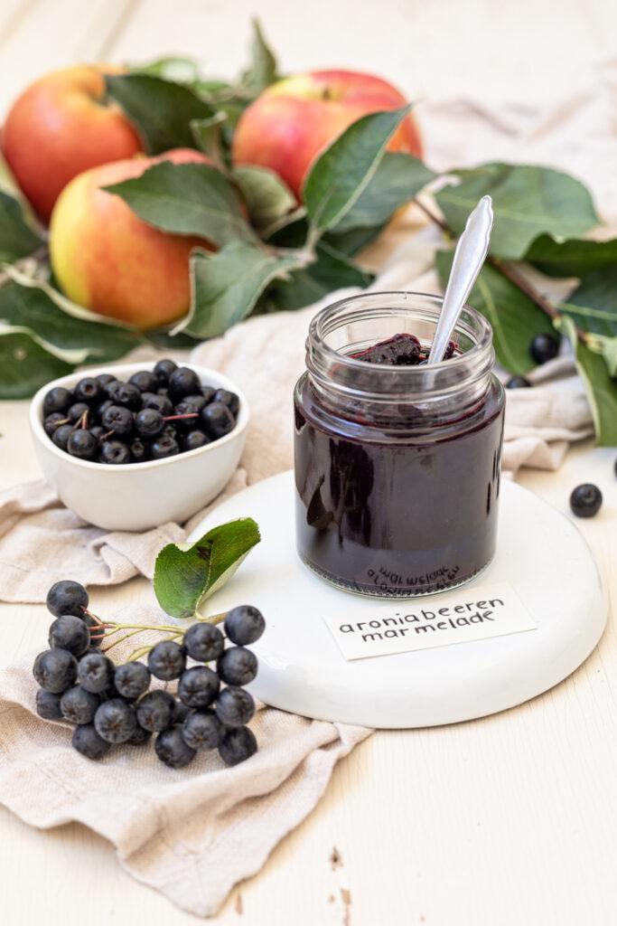 Leckere Aronia Apfel Marmelade nach einem Rezept von Sweets & Lifestyle®