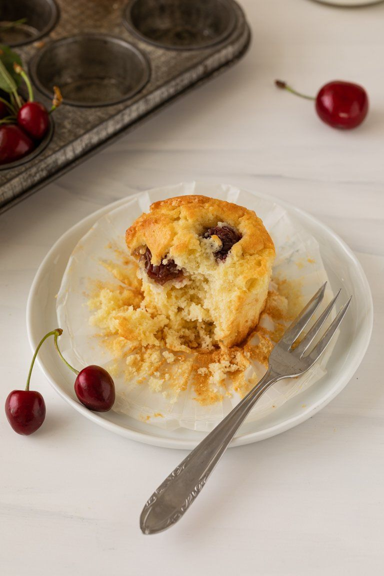 Kirschmuffin Rezept mit Buttermilch von Sweets & Lifestyle®
