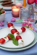 Rezept fuer Erdbeer Marshmallow Spiesse vom Grill von Sweets & Lifestyle®