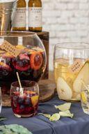 Rezept fuer eine erfrischende Birnen Cider Bowle von Sweets & Lifestyle®