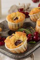 Rezept fuer saftige Kirschmuffins von Sweets & Lifestyle®